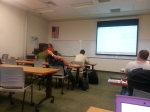 Mike Davis going over PowerPivot