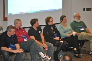 An experts panel session