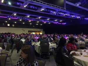 The masses at the WIT Luncheon