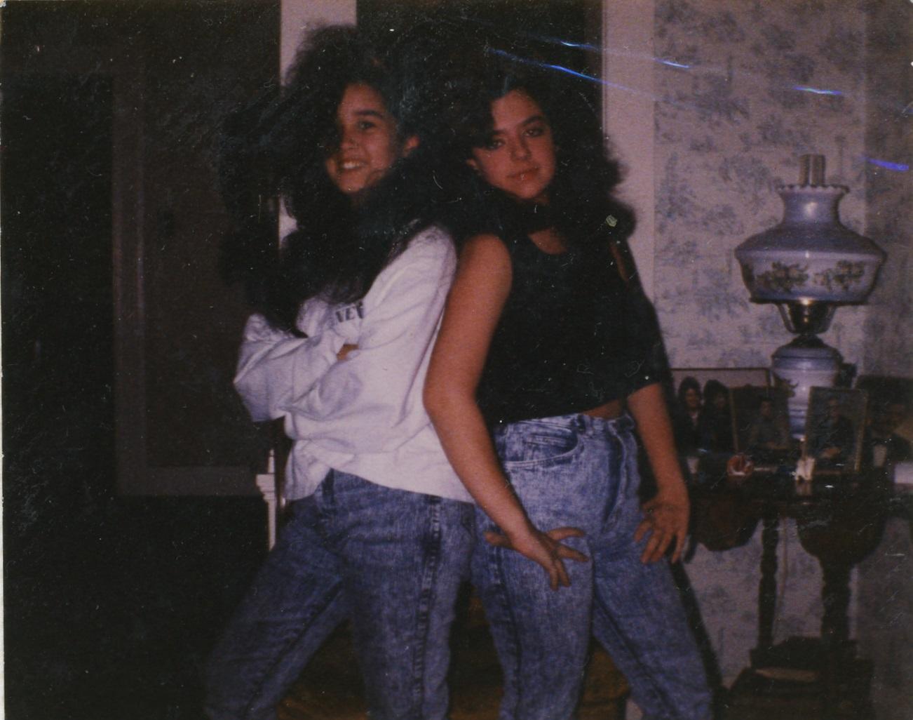 1990BigHairExhibitMeAngie